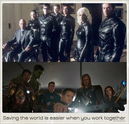 X-Men_Avengers_Team_Teamwork